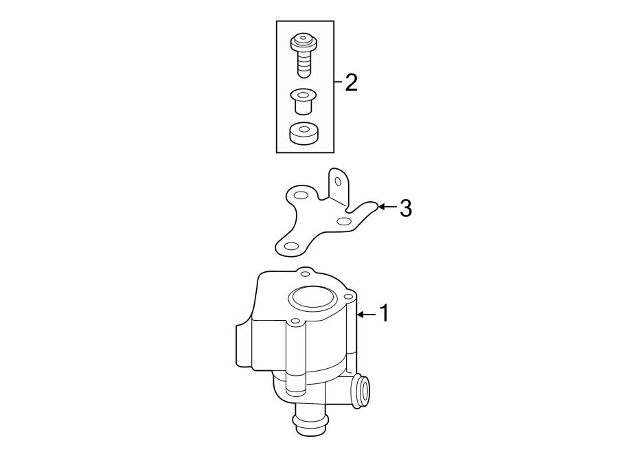 2016 Volkswagen Jetta GLI Engine Auxiliary Water Pump ...