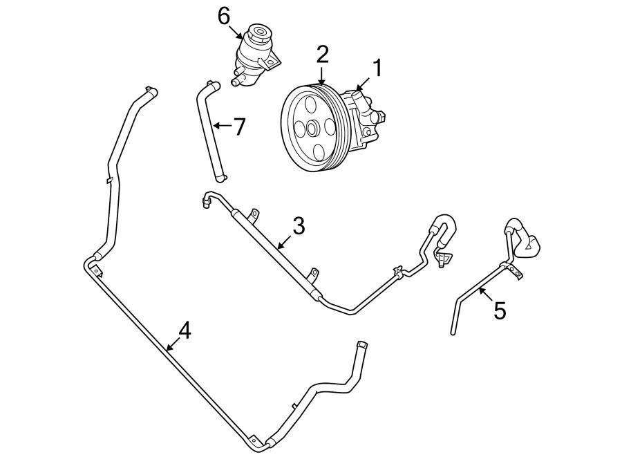 7b0145255 power steering pump pulley power steering. Black Bedroom Furniture Sets. Home Design Ideas