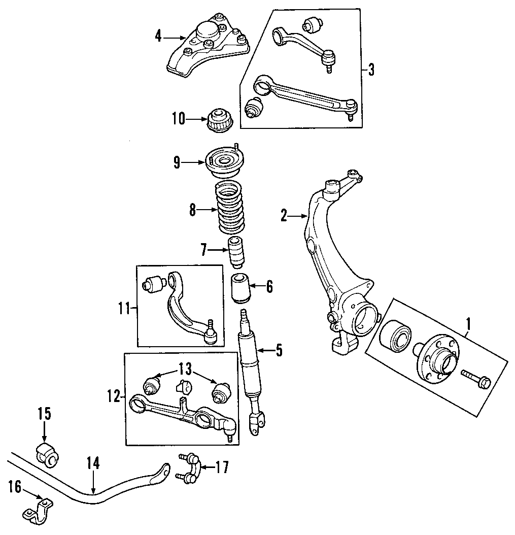 Volkswagen Golf Gear Assembly  Rack And Pinion Assembly  Steering Gear  From Chassis  Vin