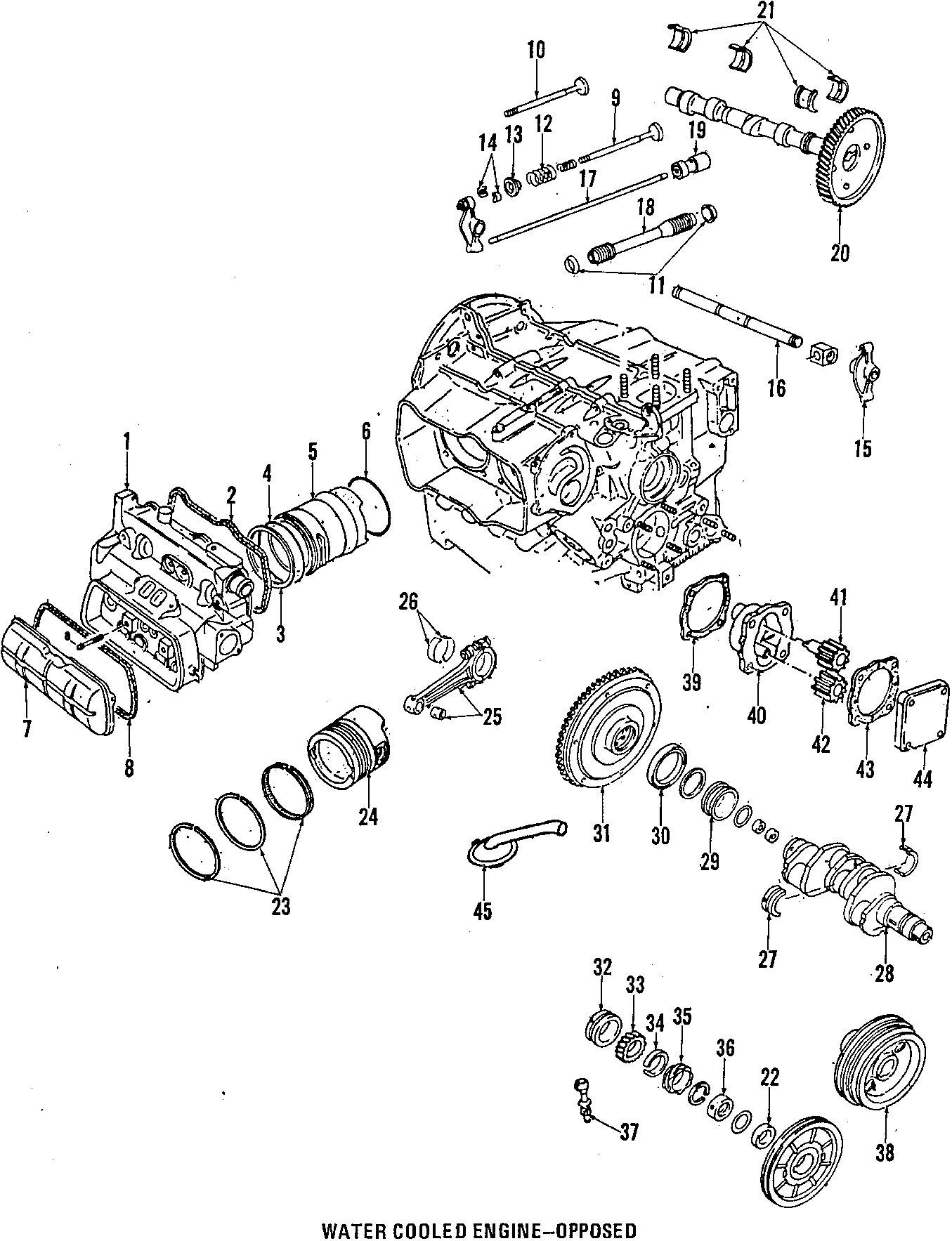 025105251 - Engine Crankshaft Pulley. Damper. Engine ...