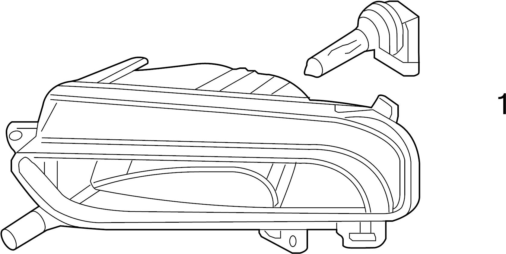 2012 volkswagen jetta gli bulb  beam - n10529501