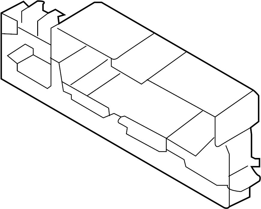 5q0937503f - bracket  relay  module  control  passenger  compartment  park