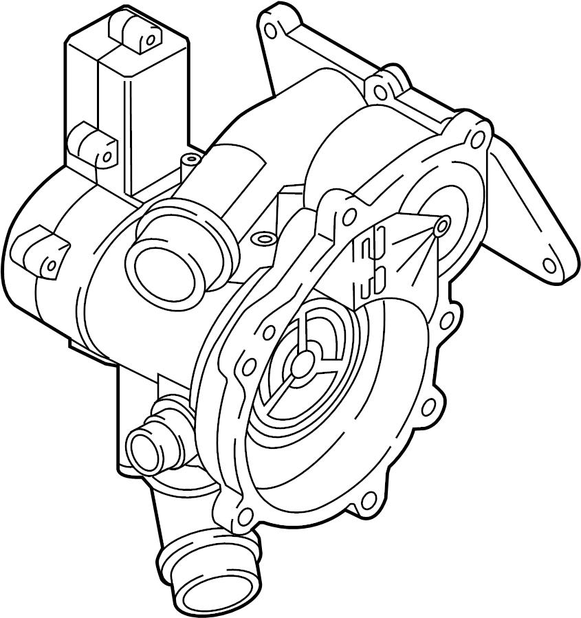 Volkswagen Golf R Thermostat Audi Volkswagen