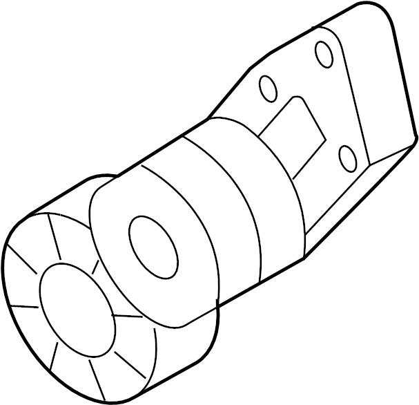 2016 volkswagen passat accessory drive belt tensioner
