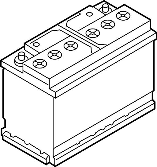 2015 volkswagen jetta relay  vehicle battery  amp  hour  liter - 000915105cc