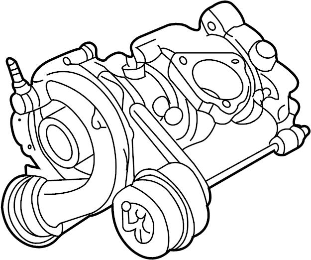 2001 volkswagen passat gls sedan 1 8l a  t fwd turbocharger