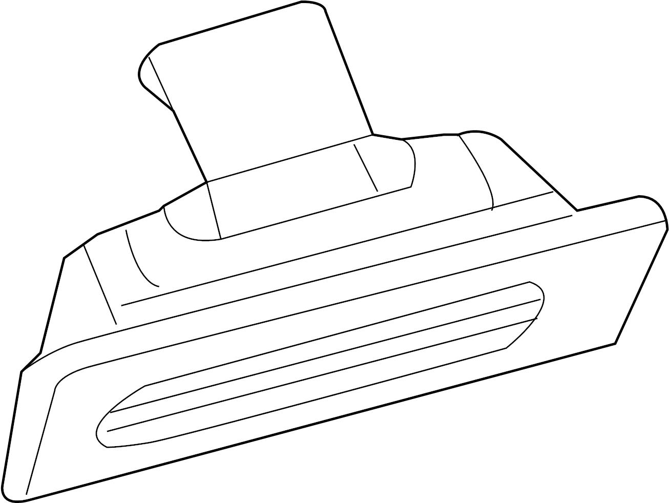 1k8943021d - license plate light assembly