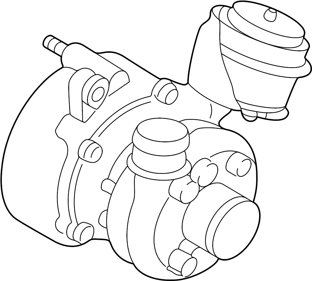 2003 volkswagen beetle convertible exhaust manifold