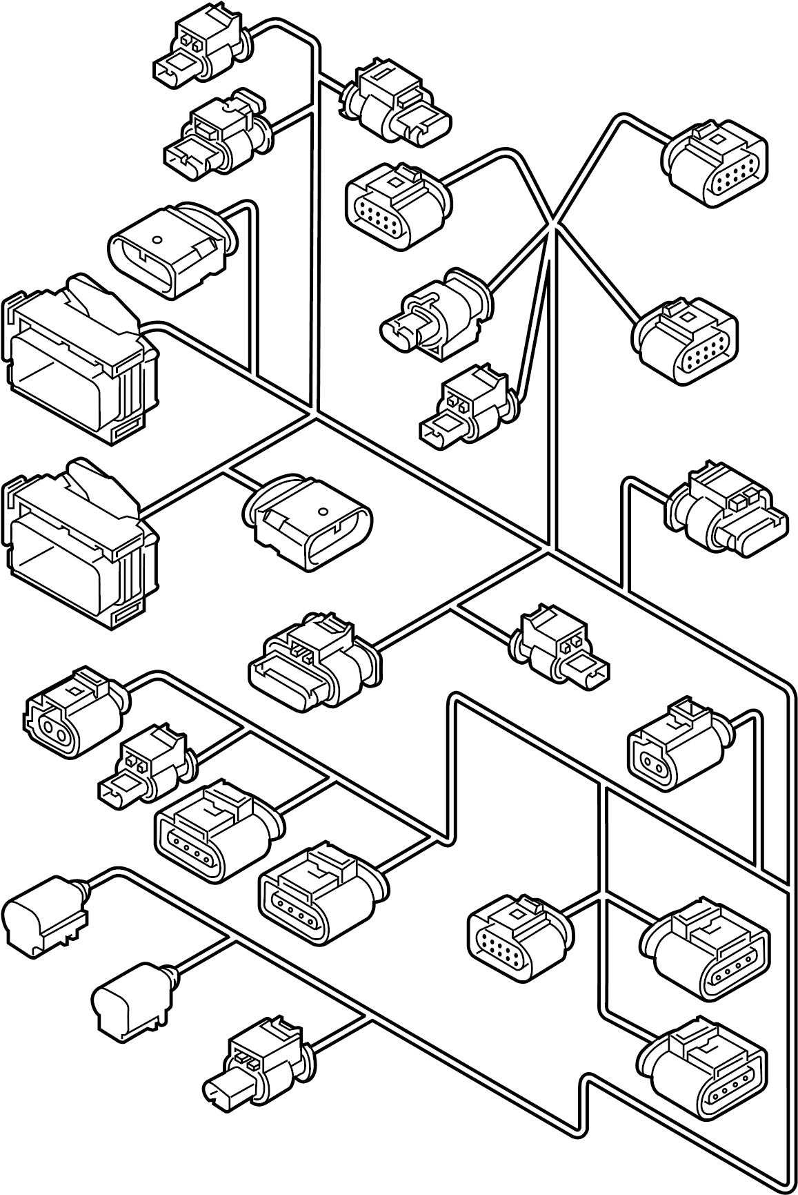 06k971627ab - Engine Wiring Harness  Liter  Trans  Manual