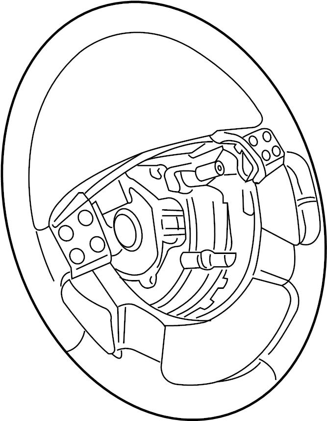 2007 volkswagen jetta steering wheel  steerwheel  wleather