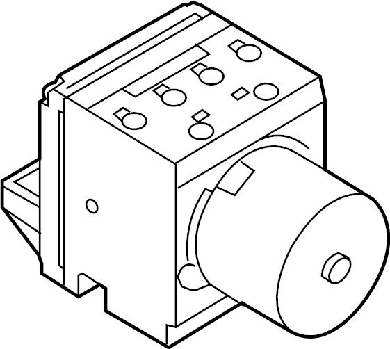 2012 volkswagen cc abs control unit  abs hydraulic