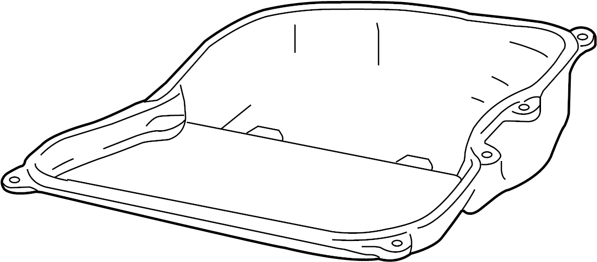 2013 Volkswagen Jetta Automatic Transmission Oil Pan  Liter  Turbocharger  Sedan