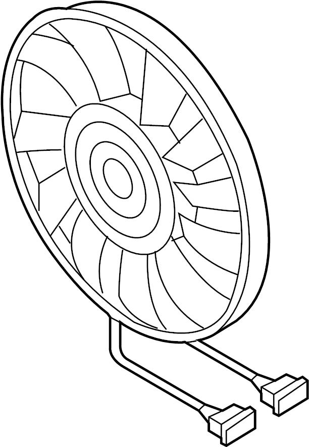 1km959455g - engine cooling fan motor  left  liter  trans