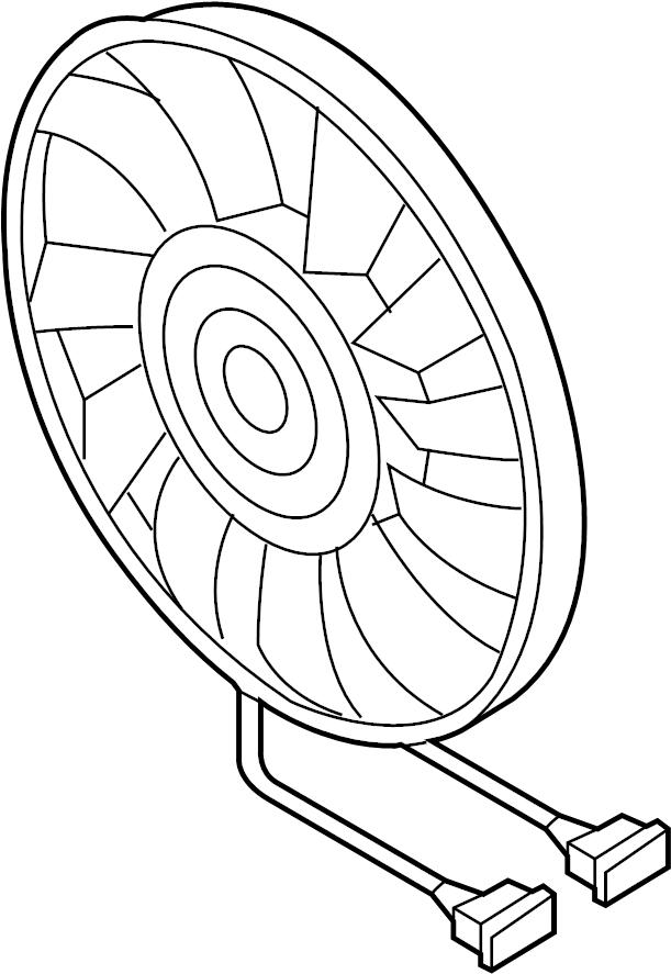 1km959455g - fan  motor  left  cooling  liter
