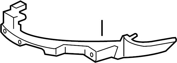 5k0807572j - bracket  beam  front  guide
