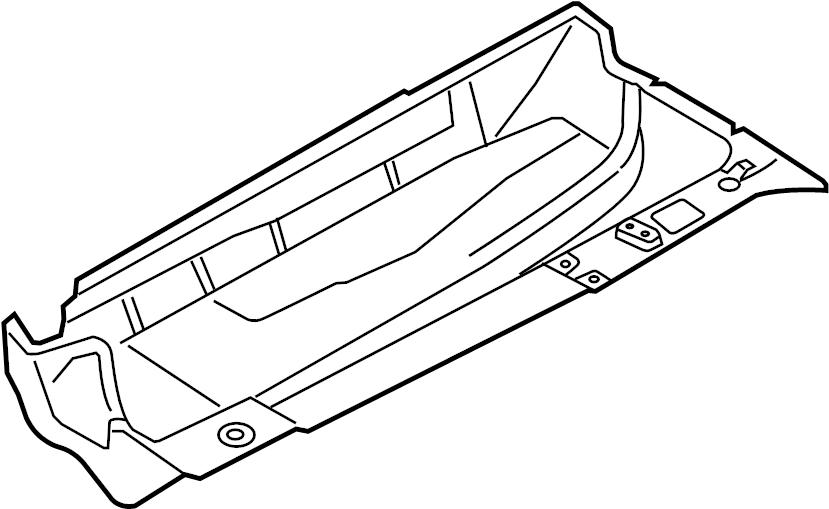 1k0803206 - floor pan  front   2 door  4 door  sedan  sedan  wagon  sedan  wagon  wagon