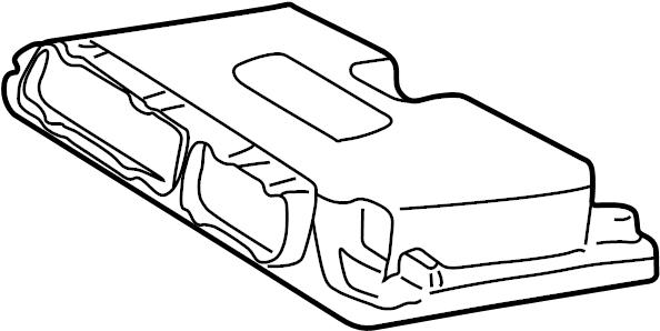 06a906032lp - contour  unit  ecm  engine control module  ignition module