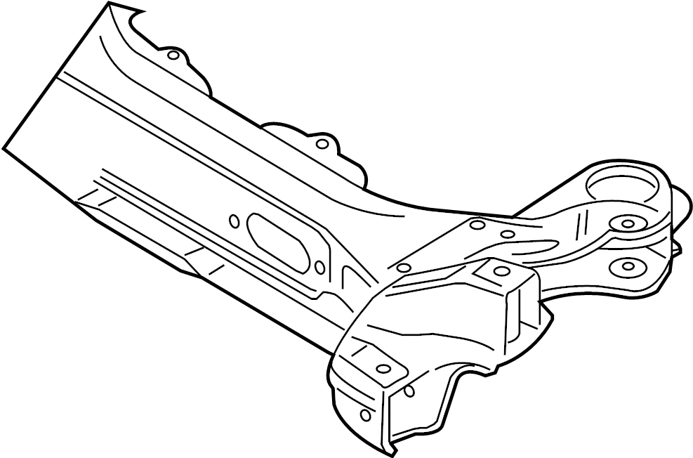 volkswagen golf suspension  crossmember  subframe  c u0026 39 mbr