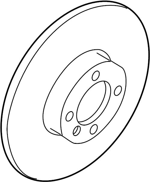 6r0615301d - brake disc  rotor