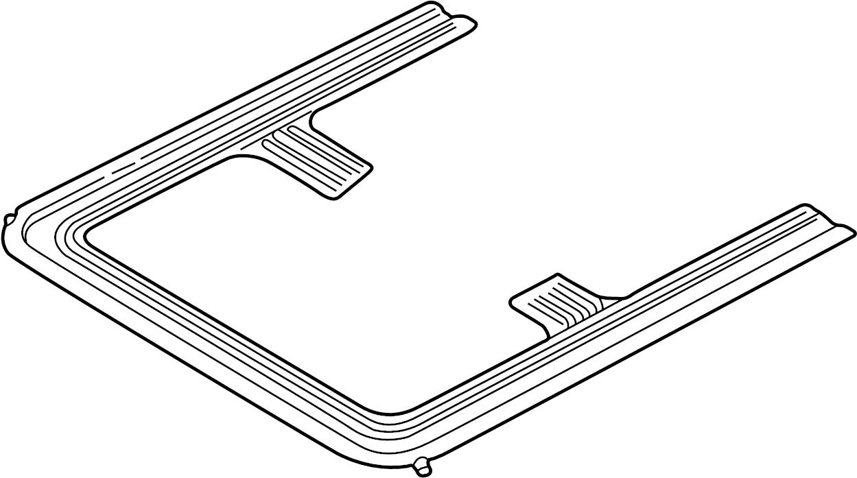 volkswagen jetta sunroof frame  sedan  webasto  wagon