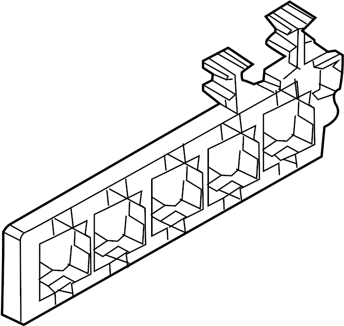 volkswagen sportwagen holder  relay box  relay plate