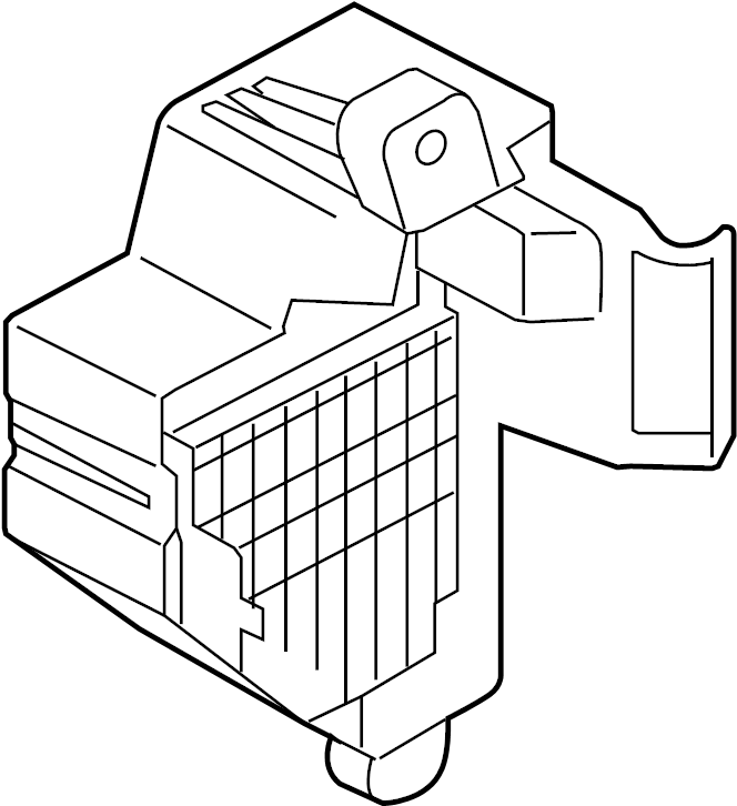 1k1941824 - fuse box  passenger  compartment  wagon