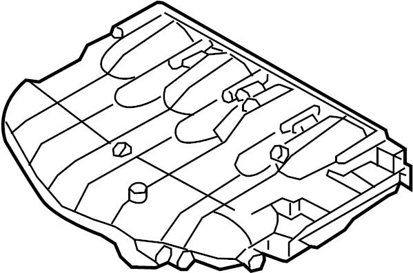 06f133201p - engine intake manifold  liter  transaxle  lower
