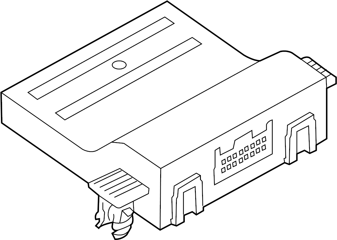 2010 volkswagen gti controller  diagnostic test connector