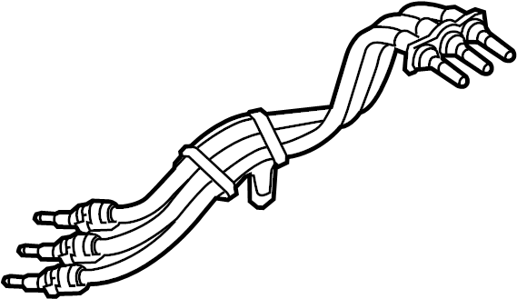 2014 volkswagen jetta gli cable  drive motor battery pack